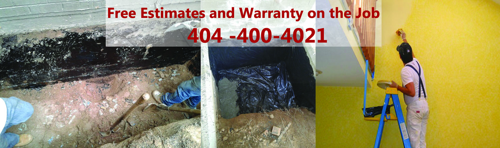 Water Repair Dunwoody GA